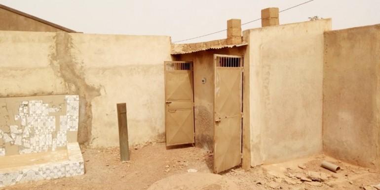Toilettes externes
